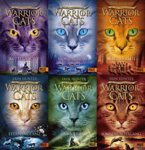 ERIN HUNTER Warrior Cats. Die Neue Prophezeiung 1,2,3,4,5