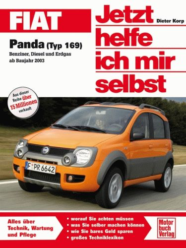 fiat panda ab 2003 typ 169 reparaturanleitung jetzt helfe. Black Bedroom Furniture Sets. Home Design Ideas